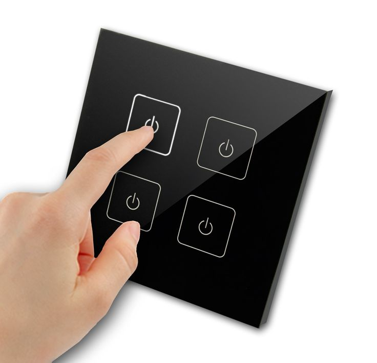 4 zone touch dimmer