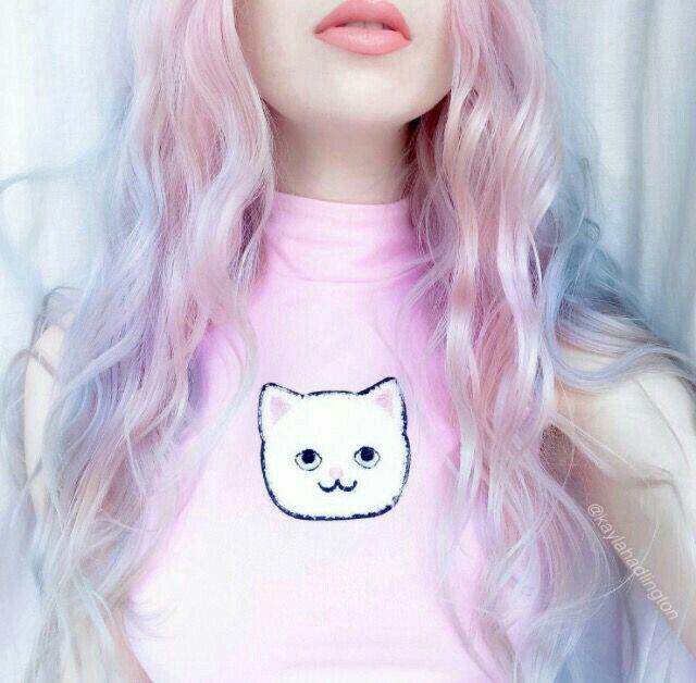 Nice Girl Pinterest Hair Pastel Hair Pink Hair