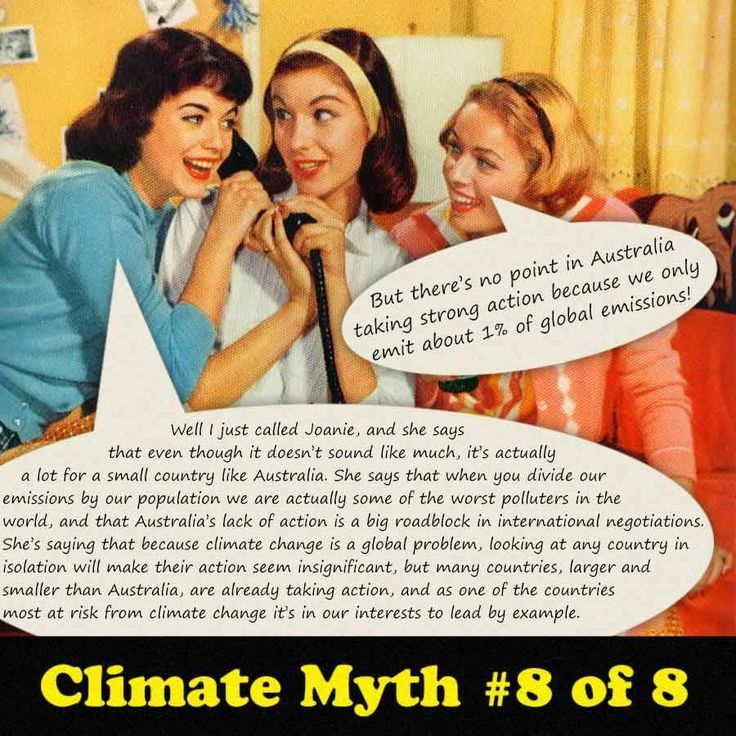 climate change myth #8
