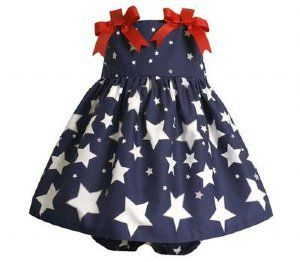 For my baby girl's first fourth of July