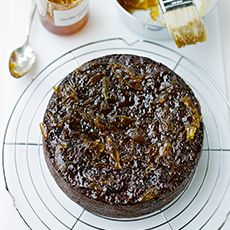 Sticky Prune and Date Cake from Delia online.  This is my alltime favourite cake to make. So easy and rich and dark.