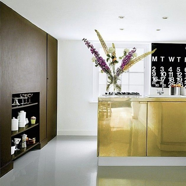 Réaliser une belle décoration de cuisine avec des accents glamour nest pas une tâche si difficile de nos jours les designers dintérieur suggèrent les