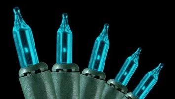 turquoise Christmas lights!?!