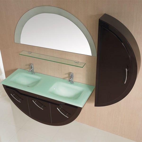 17 meilleures id es propos de demies salles de bain sur pinterest d coration pour demie. Black Bedroom Furniture Sets. Home Design Ideas