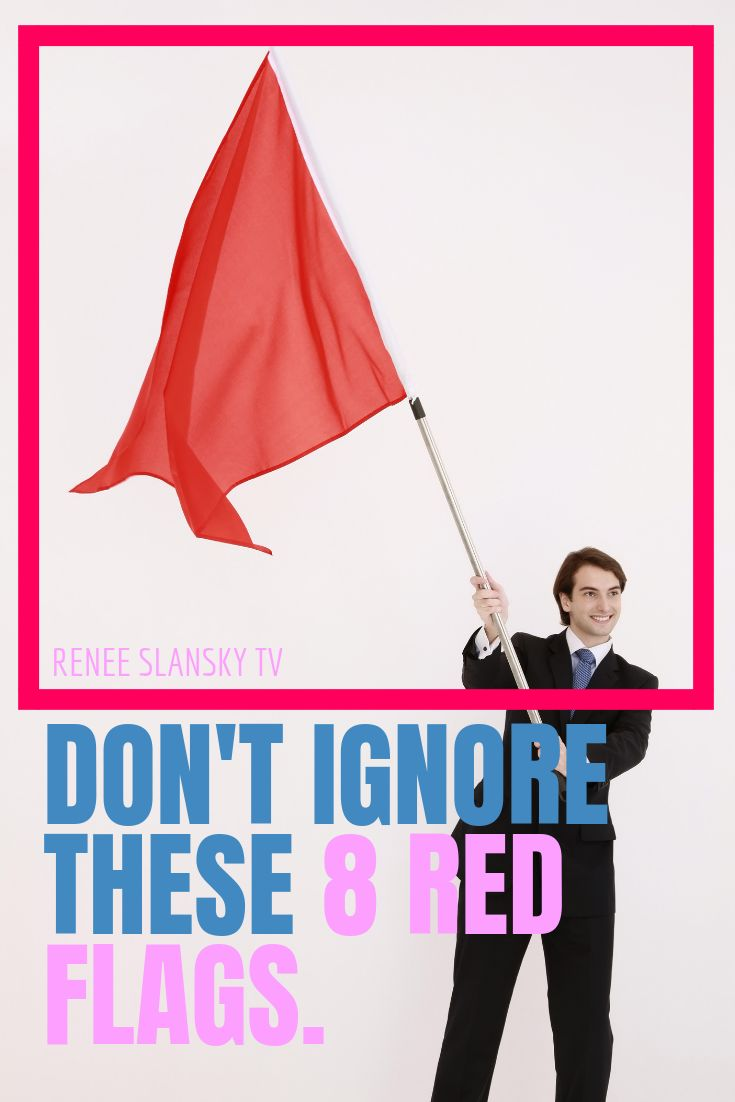 8 Red Flags To Watch Out For When Dating