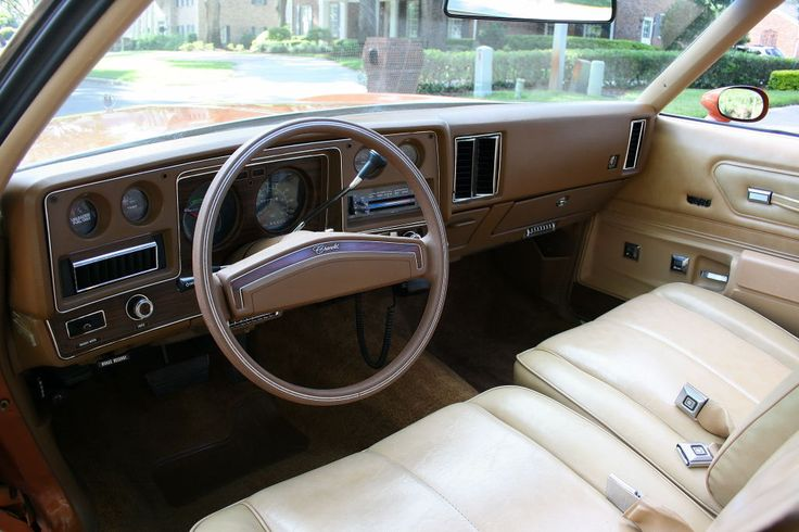 1977 chevrolet monte carlo special custom interior classic car interiors pinterest. Black Bedroom Furniture Sets. Home Design Ideas