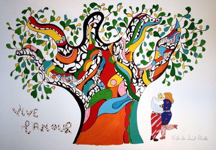 Niki de saint Phalle au grand palais - Artgora - association Clamart
