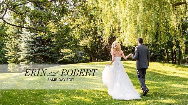 Erin + Robert's Same-Day-Edit