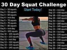 Jen Selter! Squat Challenge