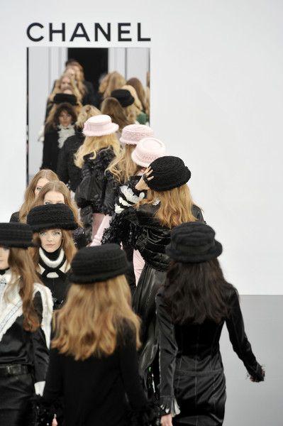 Chanel runway models