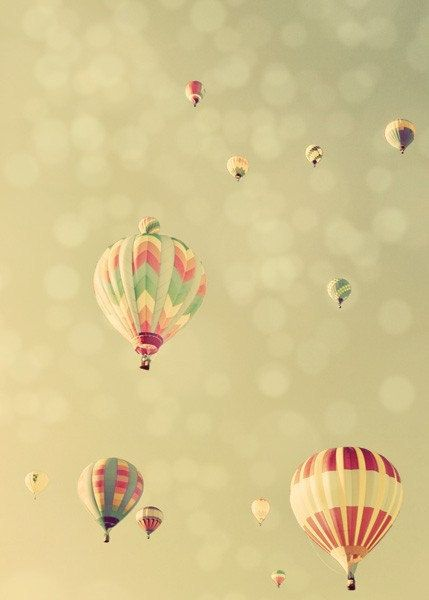 Heißluft-Ballon-Photographie, Traum vom Fliegen, 5 x 7 Fine Art Photography Print. Nr. 3237. Vertikal
