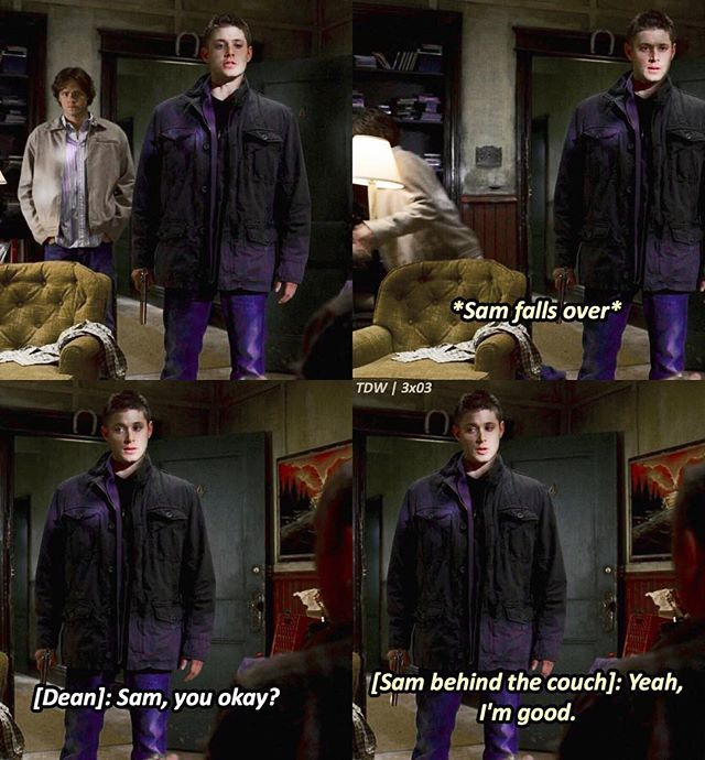 This was such a good episode. The moment when Supernatural realised it could be campy and funny as well as scary.