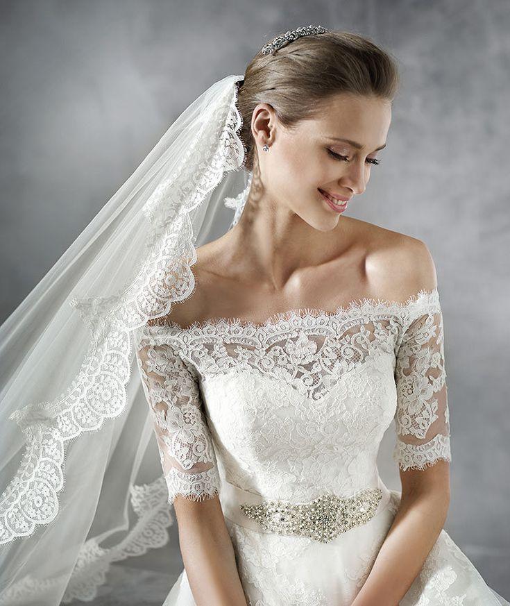 Vestido para noivas românticas <3 Coleção 2016 by Pronovias