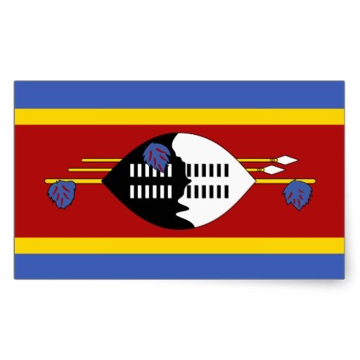 Swaziland* Flag Sticker