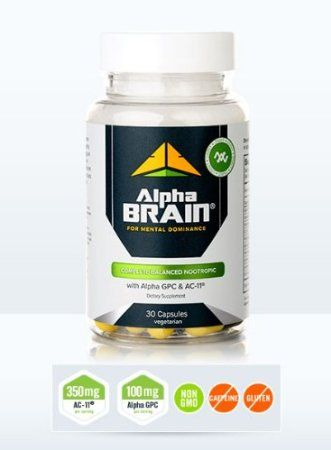 Alpha Brain complete balanced nootropic 30 capsules