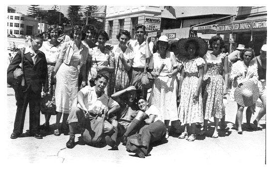 Cronulla Beach 1940's. Photo by Sue Paton
