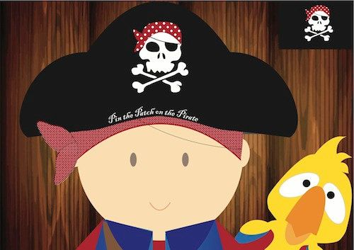 Pin the Patch on the Pirate Game by jlaidlaw on Etsy, $5.00
