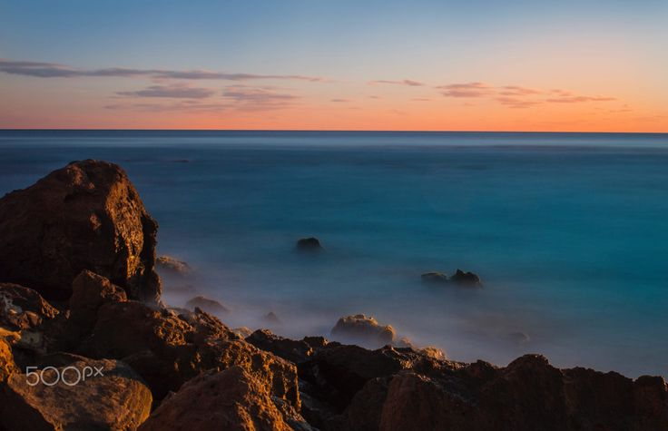 Long exposure sunset by Angelo Konofaos (Knf) on 500px