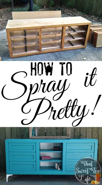 Spray It Pretty! ~A Thomasville Steal in Teal - That Sweet Tea Life