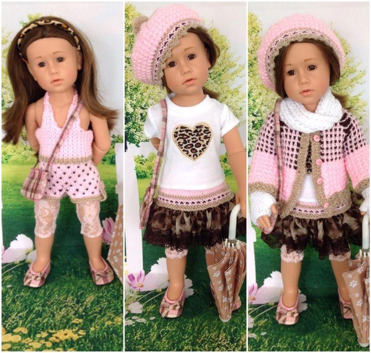 54 best Puppenkleidung für Götz 50 cm Puppen images on Pinterest ...