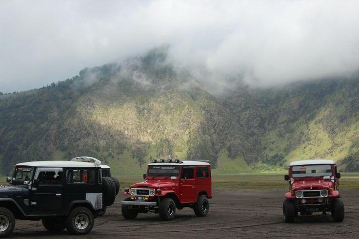 Jeep, Mt. Bromo Probolinggo, Jawa Timur http://goo.gl/VJ0G6r