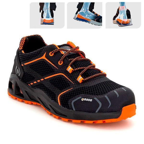 Base Step B1004a Kaptiv Zapatos K Absorción Deportivos Seguridad De tsxrChdQ