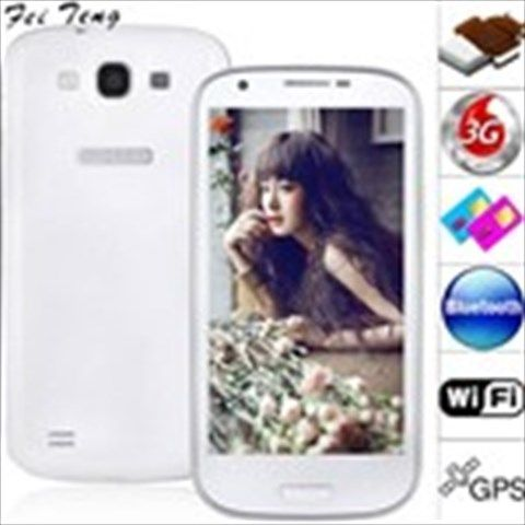 "(FEITENG) 4.7"" Capacitive Screen Android 4.0 MTK6577 3G Smart Phone+ GPS+ WiFi+ 8MP Camera + Bluetooth"