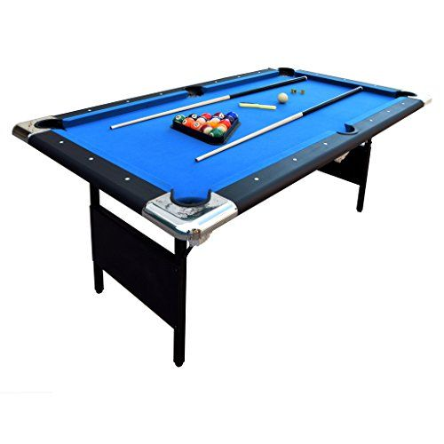 Hathaway Fairmont 6' Portable Pool Table - http://fitness-super-market.com/?product=hathaway-fairmont-6-portable-pool-table