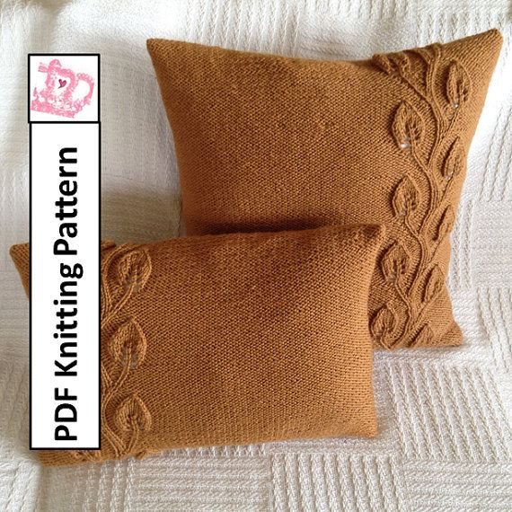 Making Pillow Covers Pleasing 68 Best Pillow Cover Knitting Patterns Images On Pinterest  Knit Decorating Design