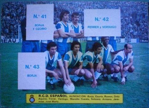 """Cromos Este 1976-77. """"Escudos y equipos"""". Liga Española. 10"""
