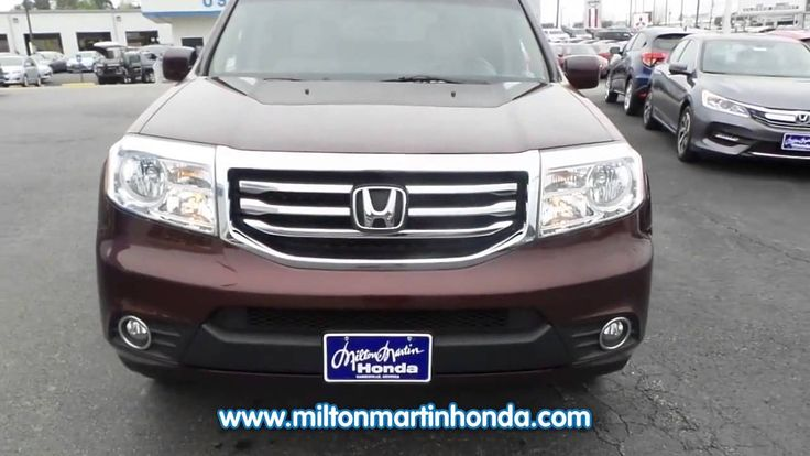 7 best 2013 honda pilot our god given blessing images for Milton martin honda used cars