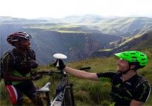 Mountain Biking in Lesotho with Sky Events. #dirtyboots #mountainbiking #lesotho