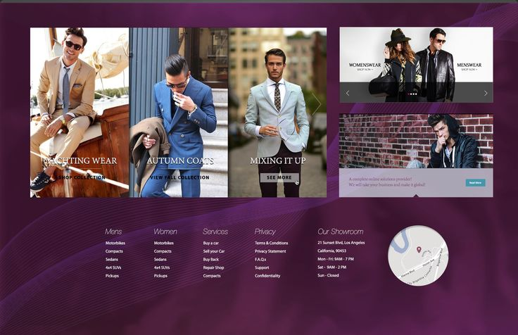 The wide variety of elements specifically designed for this niche fit perfectly for a fashion shopping website especially if you are looking for that exquisite feel.