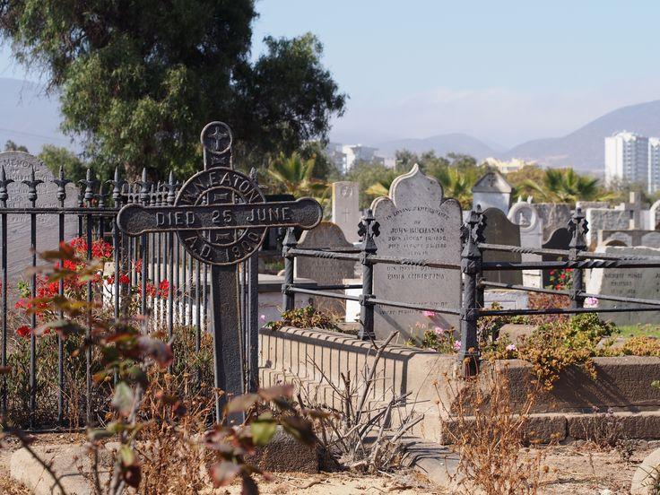 English cemetery Guayacán, Coquimbo, Chile 2015.