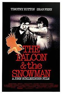 The Falcon & The Snowman (1985) As a CIA employee in charge of guarding top secret documents, all-American Christopher Boyce becomes disillusioned with his country and decides to make a deal with the Soviet Union. Boyce drags his childhood friend Daulton Lee into the arrangement, but the drug-addicted Lee's reasons for committing espionage are strictly monetary. Timothy Hutton, Sean Penn, Pat Hingle...TS bio
