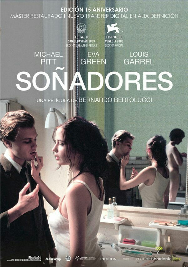 The Dreamers Bernardo Bertolucci 2003 Michael Pitt Movie Posters Design 80s Movie Posters