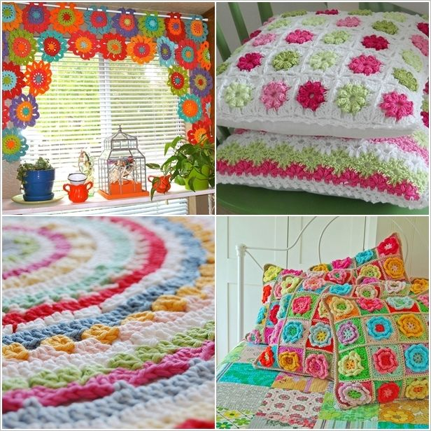 5 Amazing Ideas to Decorate Your Home with #Crochet