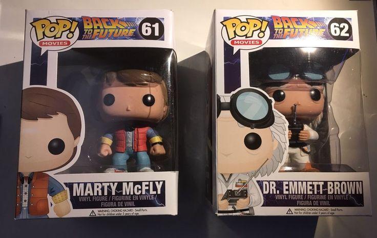 Number ERROR Pop BTTF #61 & #62 - Funko POP! Back to the Future Marty McFly & Dr. Emmett Brown Vinyl Figures #FunkoPopError
