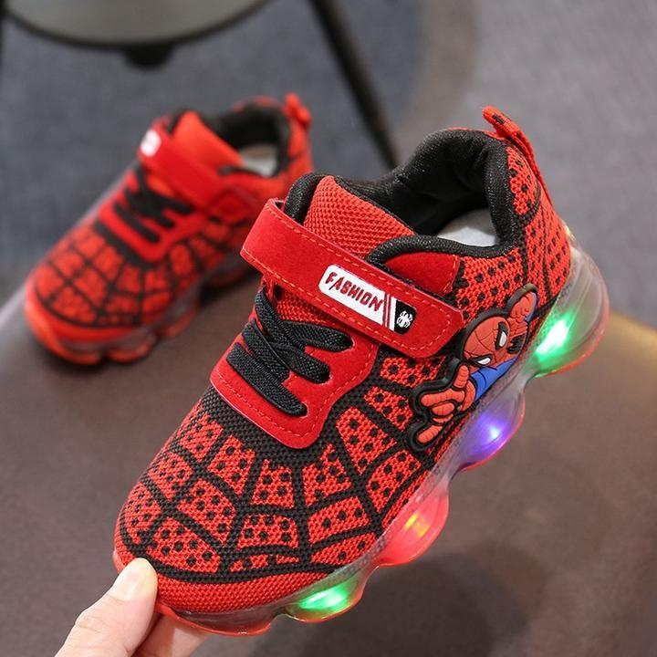 Luminous Sneakers Boy Girl Cartoon LED