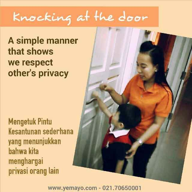 Knocking at the door.. a simple manner #love #like #yemayoaec #kursus #kecerdasanpribadi #jakarta #indonesia                                                                                                                                                             Invite pin bbm Kicau Keluarga 51CA32B1. Dptkan pls 50 rb.