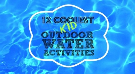 What better way to beat the heat with your kids, then fun games and activities with water!  Here are 12 Coolest Kid Outdoor Water Activities to use for your next outdoor function–school field/olympic day, birthday parties, church functions, block parties, family reunions, club meetings, sports team parties, school carnivals and of course, backyard boredom busters. These fun games and activities will make your preschoolers to teens want to be out in the heat. Enjoy!