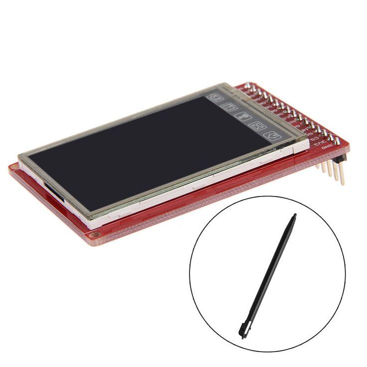 """2.0 """"3.3 В TFT Сенсорный ЖК-Экран Breakout Совета С Стилус Для Arduino-R179 Груза падения"""