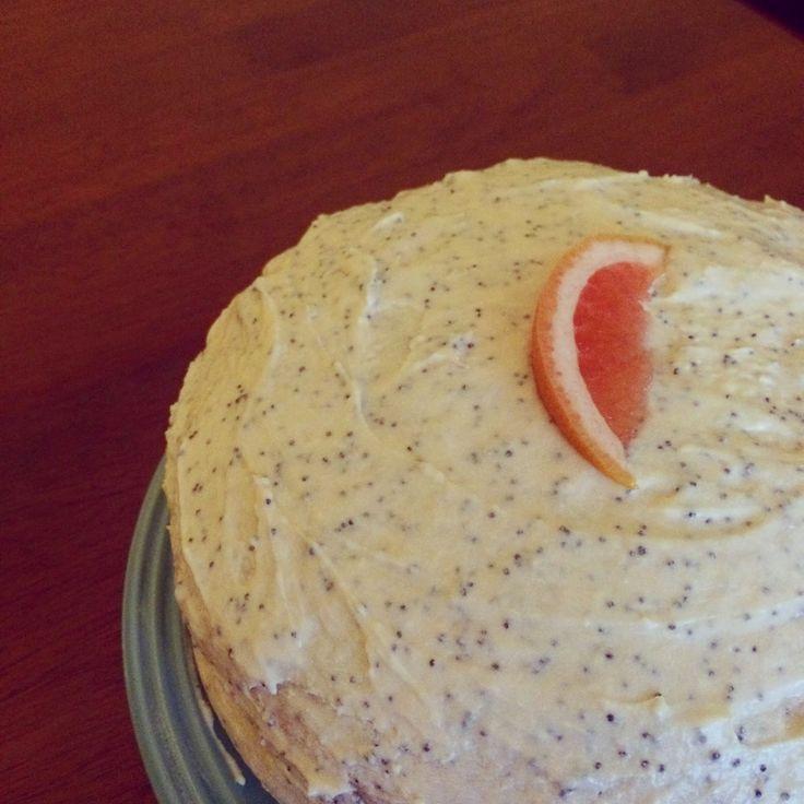 One Moist Bundt: Grapefruit Poppyseed Cake