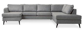 Mio County 3-sits soffa med schäslong vänster och divan höger