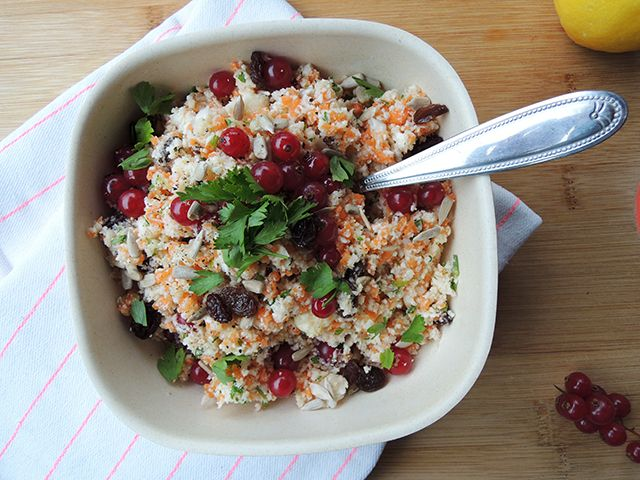 Recept: superduper healthy bloemkoolsalade