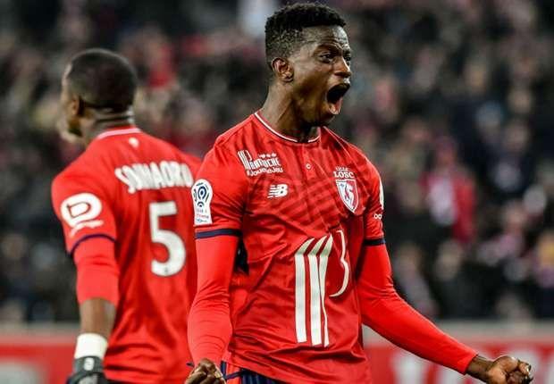 Nicolas Pepe Lille Toulouse Ligue 1 02122017