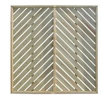 Chevron Fence Panels - would love to use as a headboard and paint