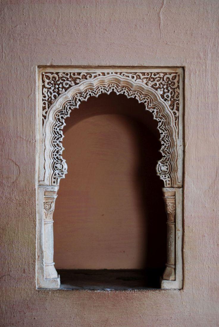 España, Malaga, Mauretania, mauretanian, art, arabi, arabesque, lace, architectural, architecture, detail, wall, paint, sculpture, detailed, open-work,