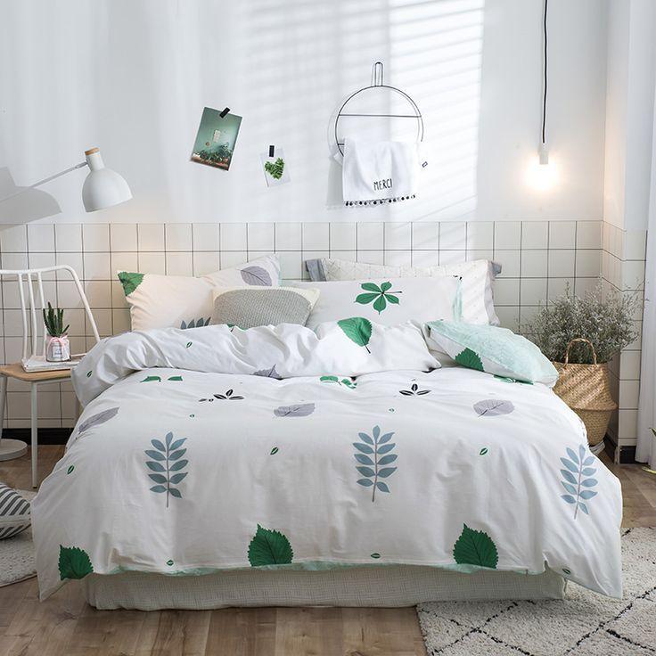 Plant Bedding Quality Bedding Set Luxury Bed Cover Set Cover Duvet