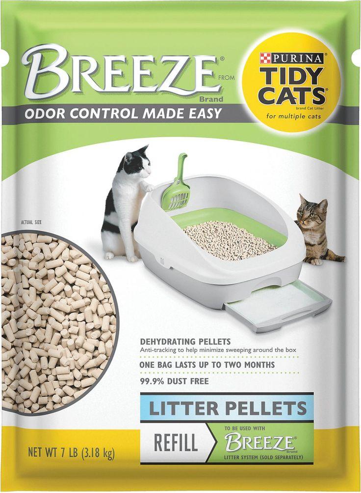 Tidy Cats Breeze Cat Litter Pellets, 7lb bag
